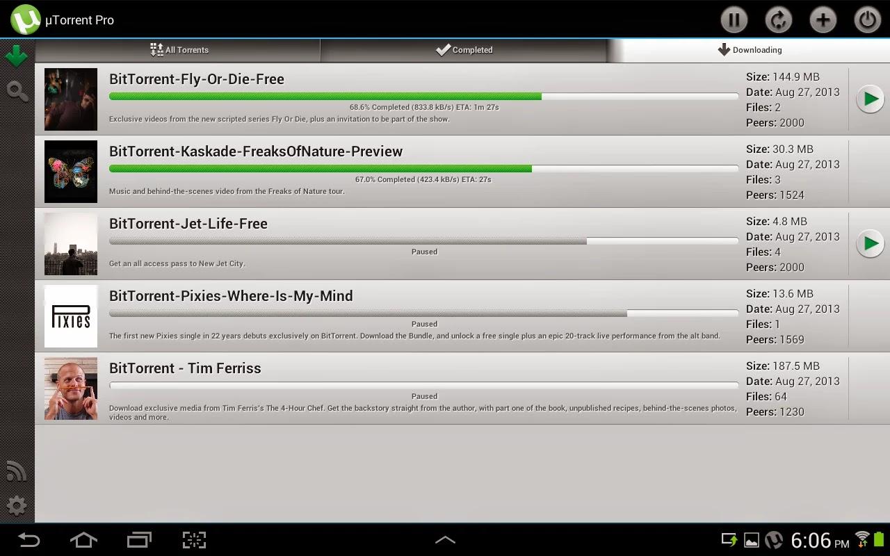 utorrent plus apk free download
